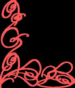 Swirl clipart coral Art Clip Clker 4 4