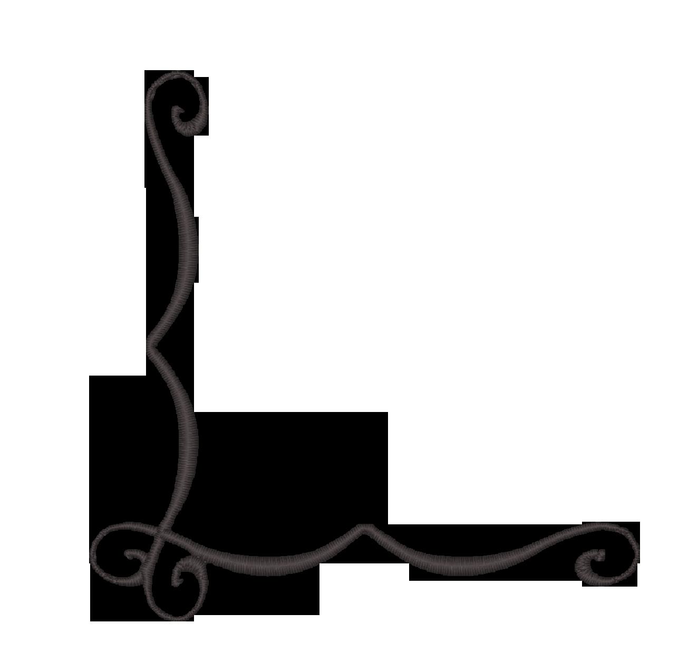 Decoration clipart simple page corner Corner Clip Corner Swirl Download