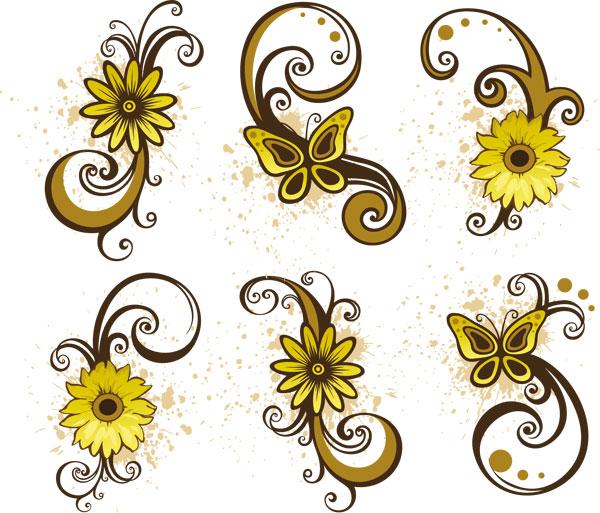 Swirl clipart cute Clipart  Free Flower Cute