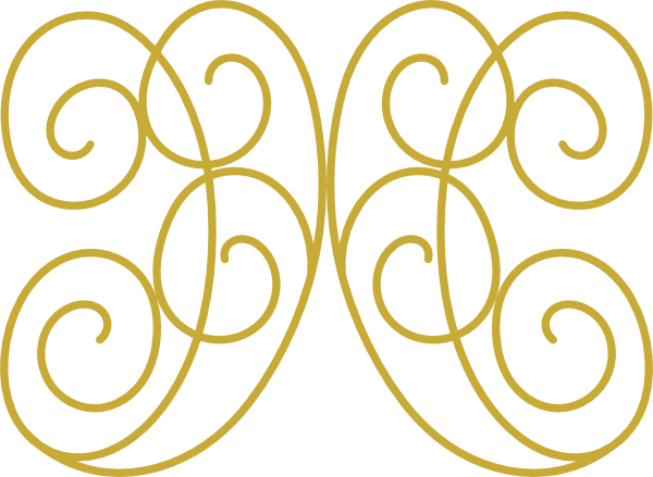 Swirl clipart gold Download at Clker this Design