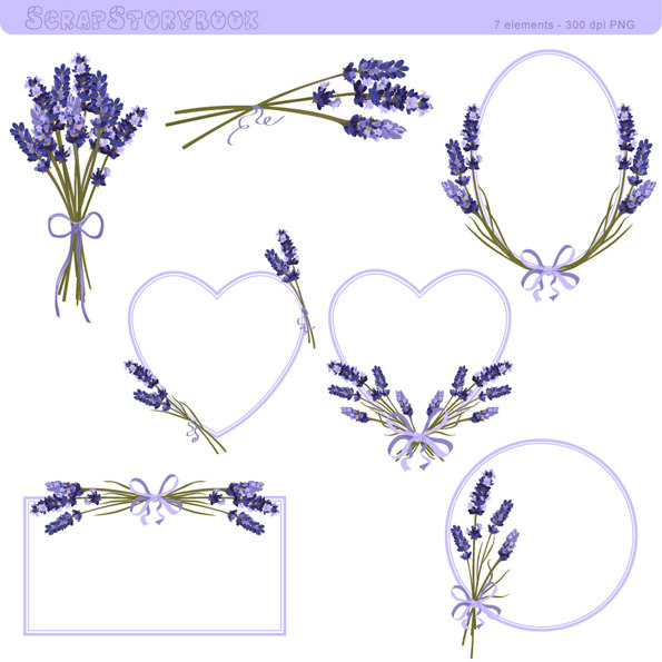 Swirl clipart lavender Clipart 300 PNG  Flower