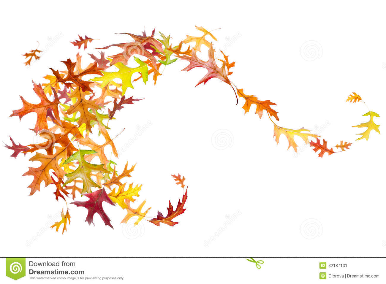 Leaves clipart windy Wind Blowing Leaves Art Blowing