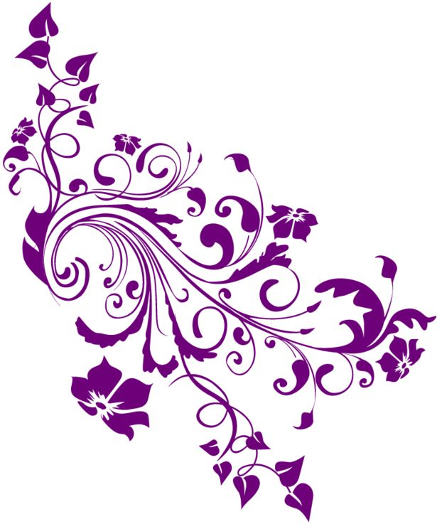 Curl clipart flower scroll Images png Pinterest 76 on