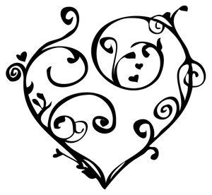 Swirl clipart love Heart Search Google best 31