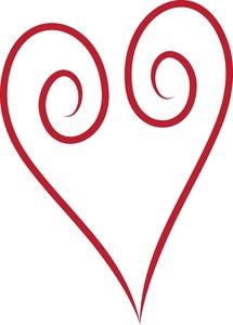 Swirl clipart love Simple Clipart Clipart Free Panda