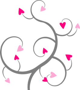 Swirl clipart love Pink Clipart Clipart Free Panda