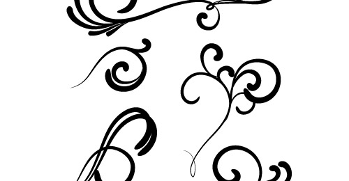 Swirl clipart silhouette Free Download on Vector Clip