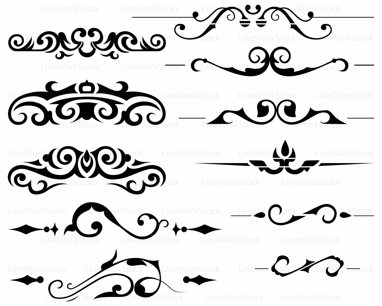 Swirl clipart silhouette Swirl svg file cricut This