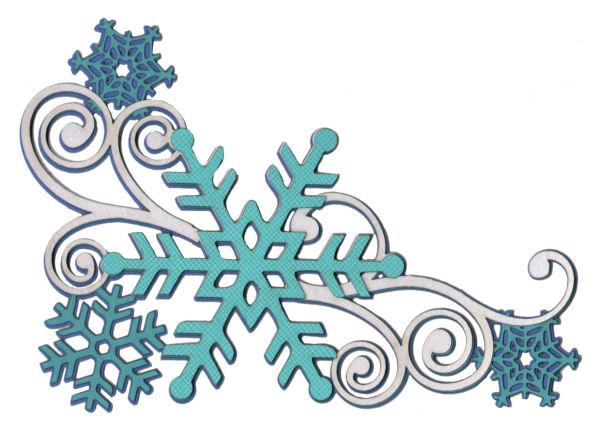 Frozen clipart swirl  Die Page Swirl scrapbook