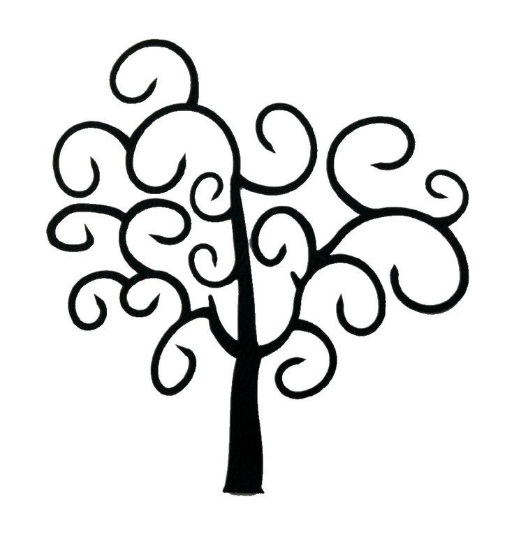 Swirl clipart tree Download Free Art Tat Clipart
