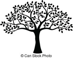 Swirl clipart tree White and tree white clipart