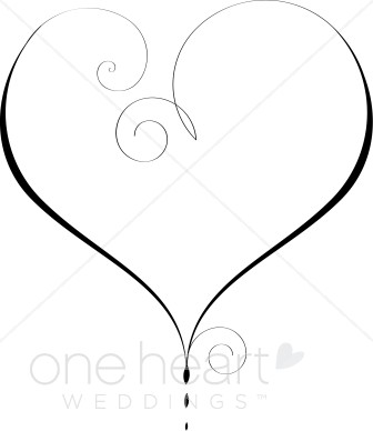 Hearts clipart heart outline Outline Heart Heart Clipart Graphics