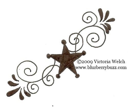 Swirl clipart western Swirl Black Design Western 2