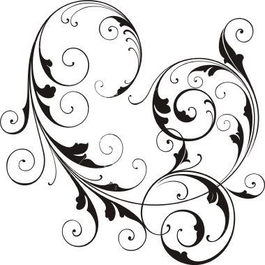 Swirl clipart western Whimsical Clipart clipart design Whimsical