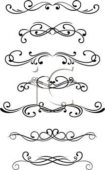 Swirl clipart western Best Selection fonts Swirls Pinterest