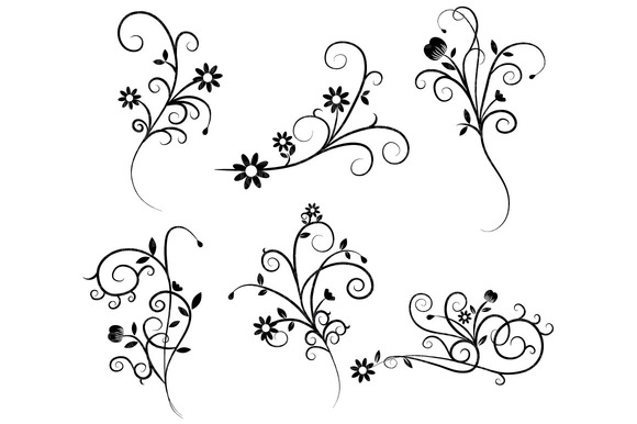 Swirl clipart western Free clipart Clipartix image free