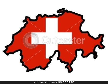 Switzerland clipart Flag flag of Switzerland with