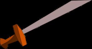 Sword clipart Clip Clker at com Art