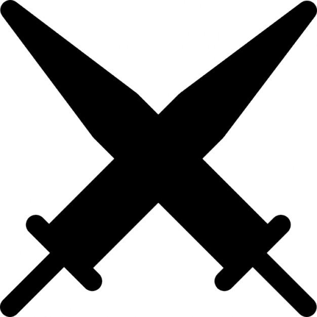 Sword clipart cross Swords in arrangement Photos Vectors