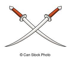 Sword clipart cross  Cross Vector Vector swords
