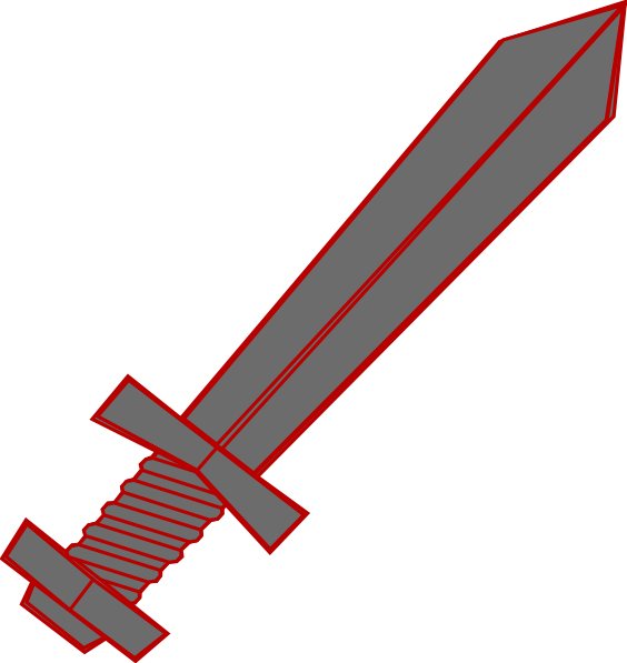 Sword clipart small At royalty Clker online vector