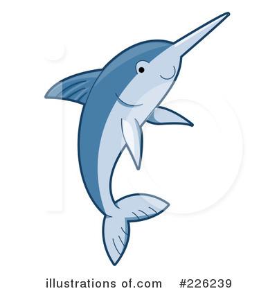 Swordfish clipart cartoon Swordfish Design Clipart Illustration Design