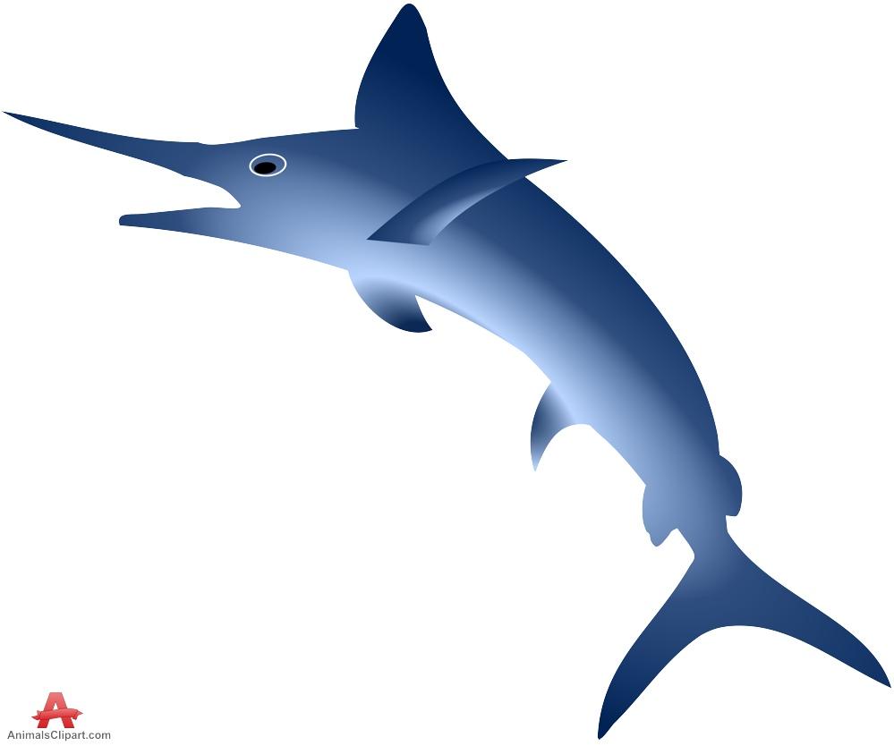 Swordfish clipart Download Blue Swordfish Clipart Clipart