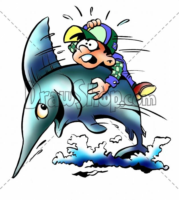 Swordfish clipart cartoon Are after file delivered without