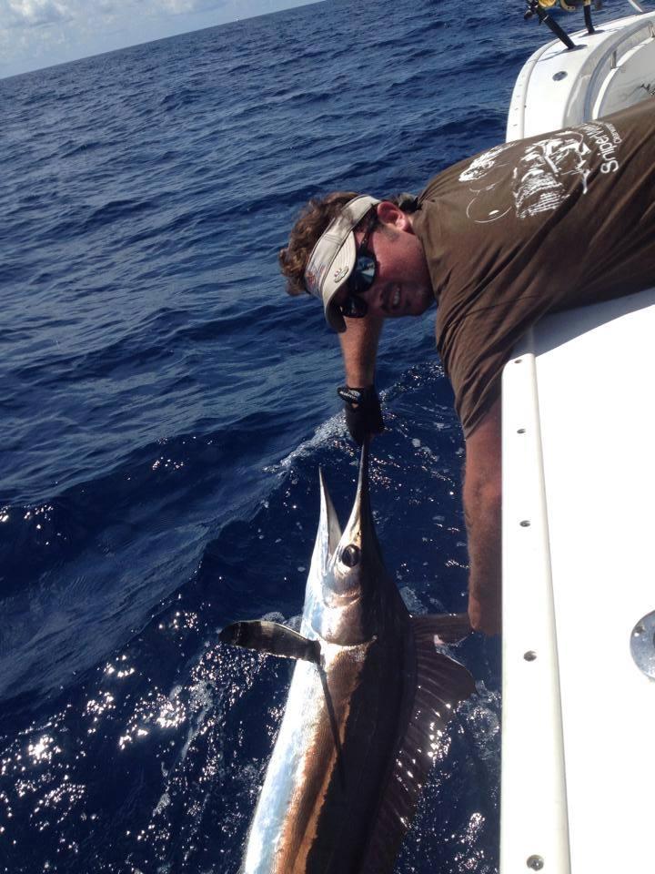Swordfish clipart deep sea fishing Fishing Charter Fishing Deep Shot