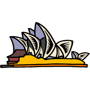 Sydney Opera House clipart Sydney Opera  Sydney Sydney