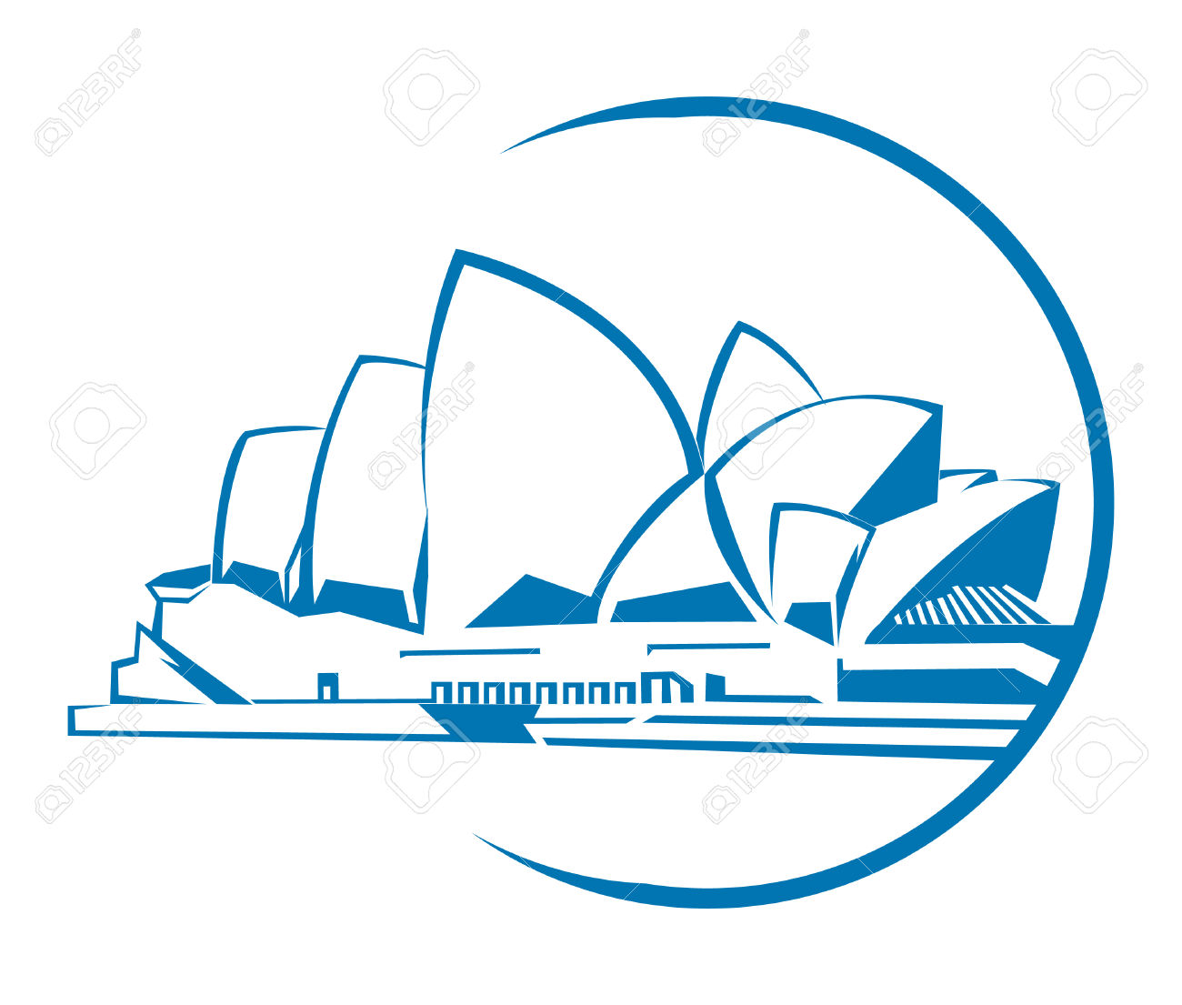 Sydney Opera House clipart Download clipart Sydney drawings Sydney