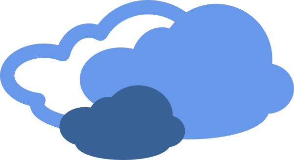 Clouds clipart cloudy weather Clipart Cloudy Art and Cloudy