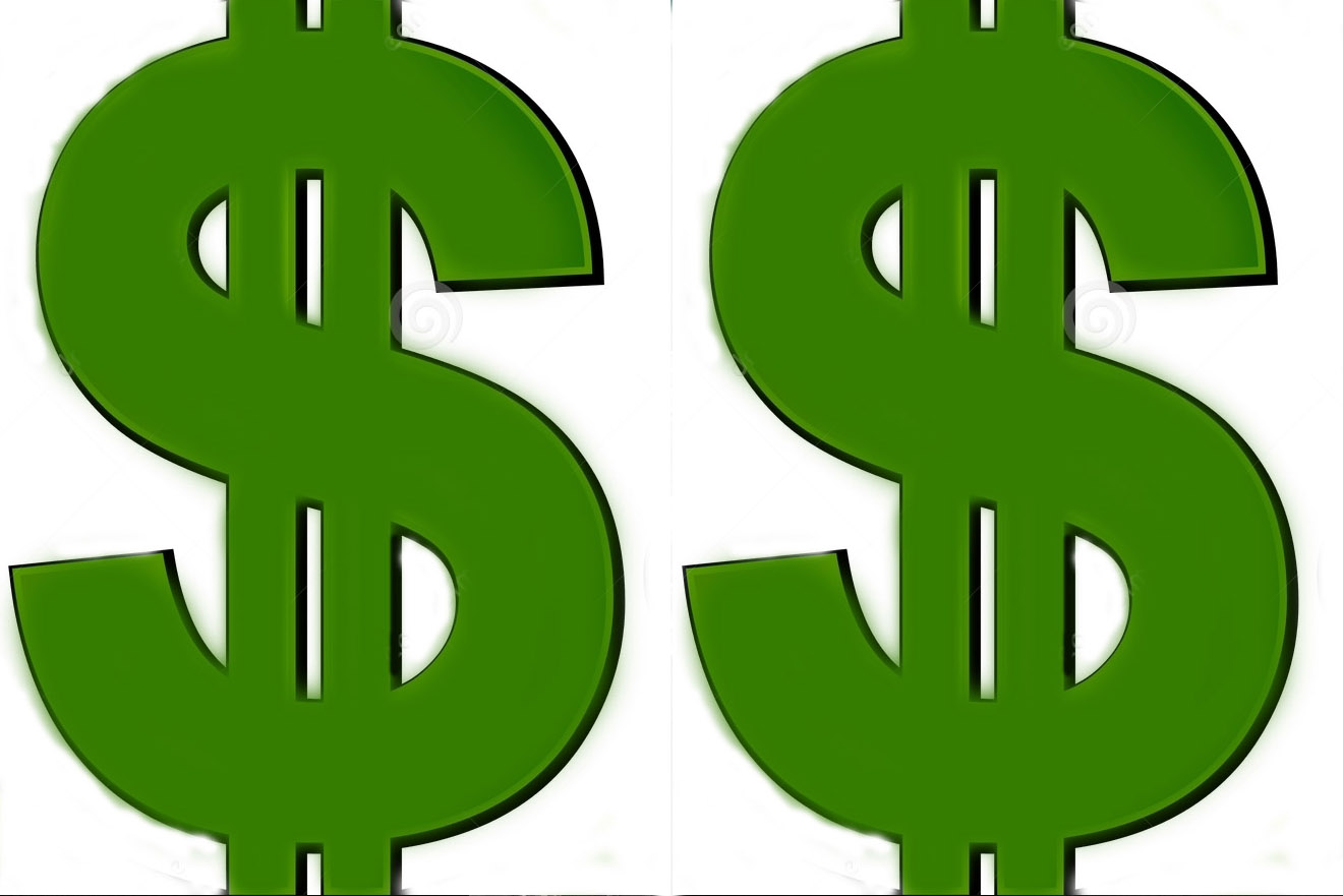 Cash clipart dollar sign #14