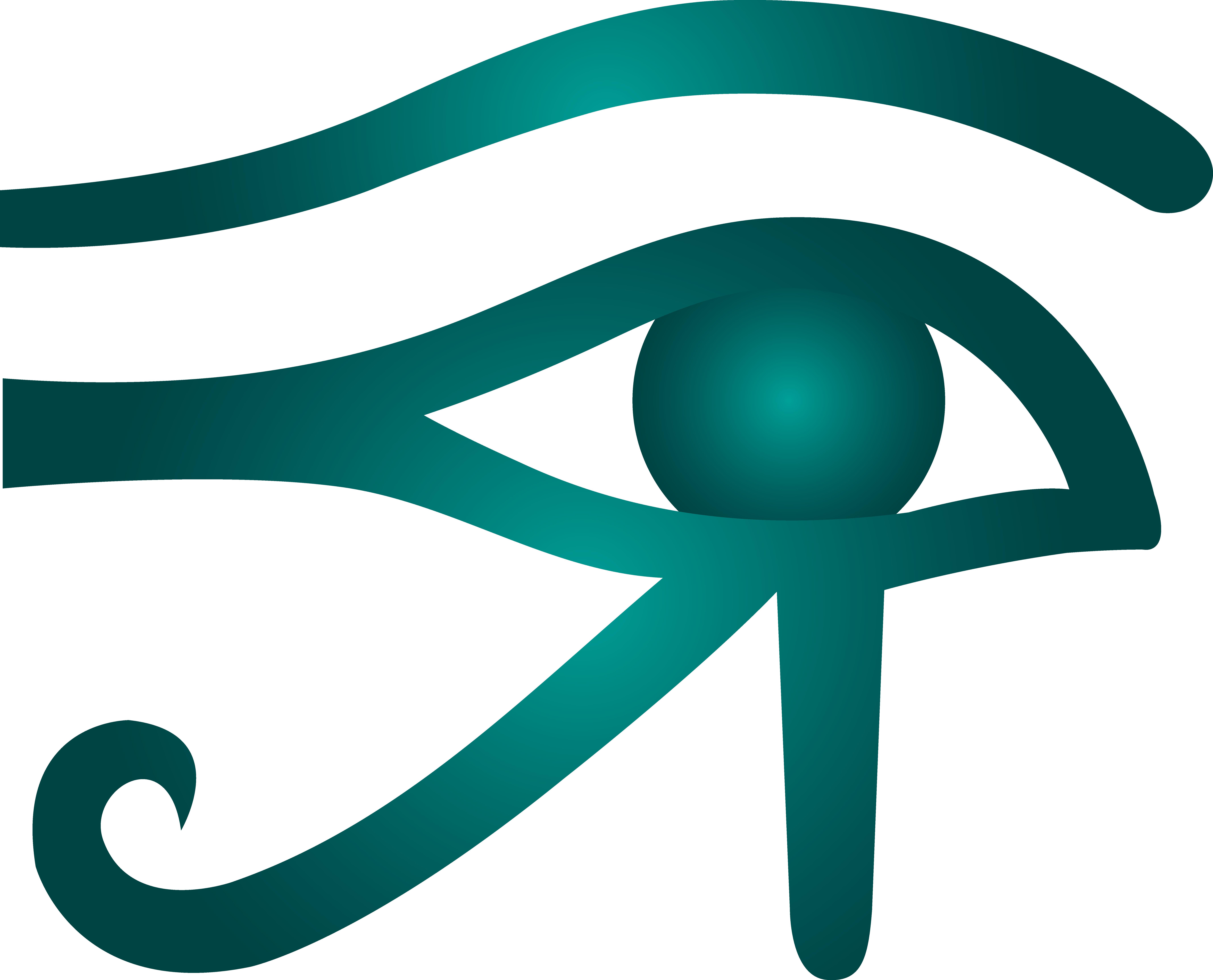 Blue clipart cat eye Download Of Of Horus drawings