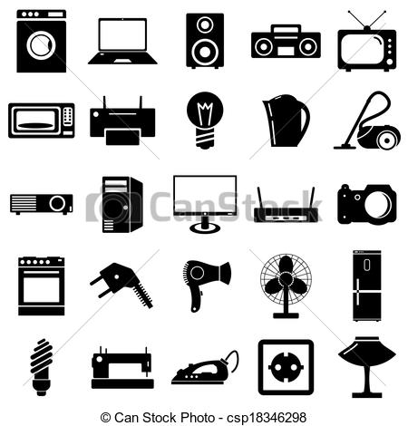 Electrical clipart icon Electrical flat illustration EPS of