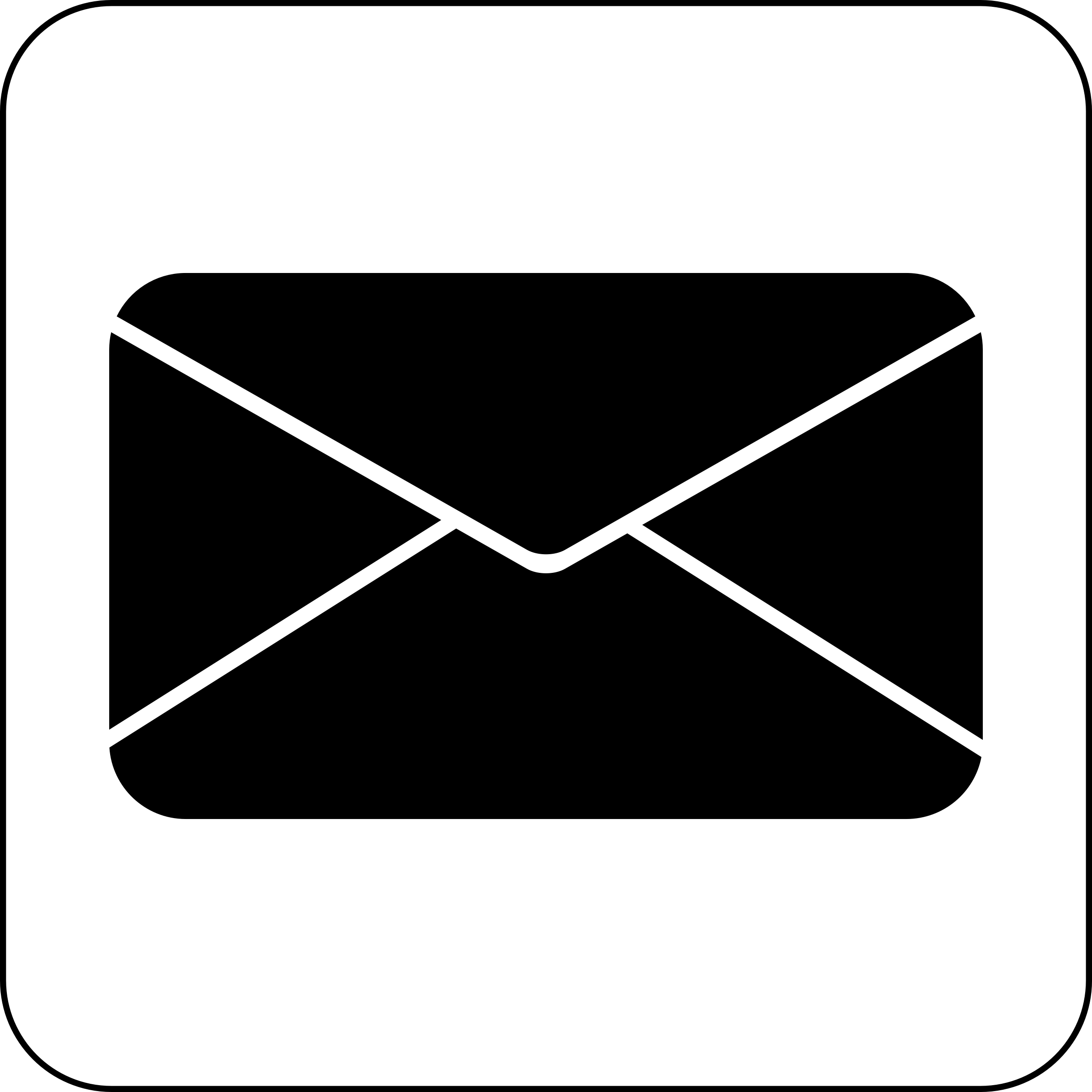 Whit clipart email Email Email symbol Clip Art