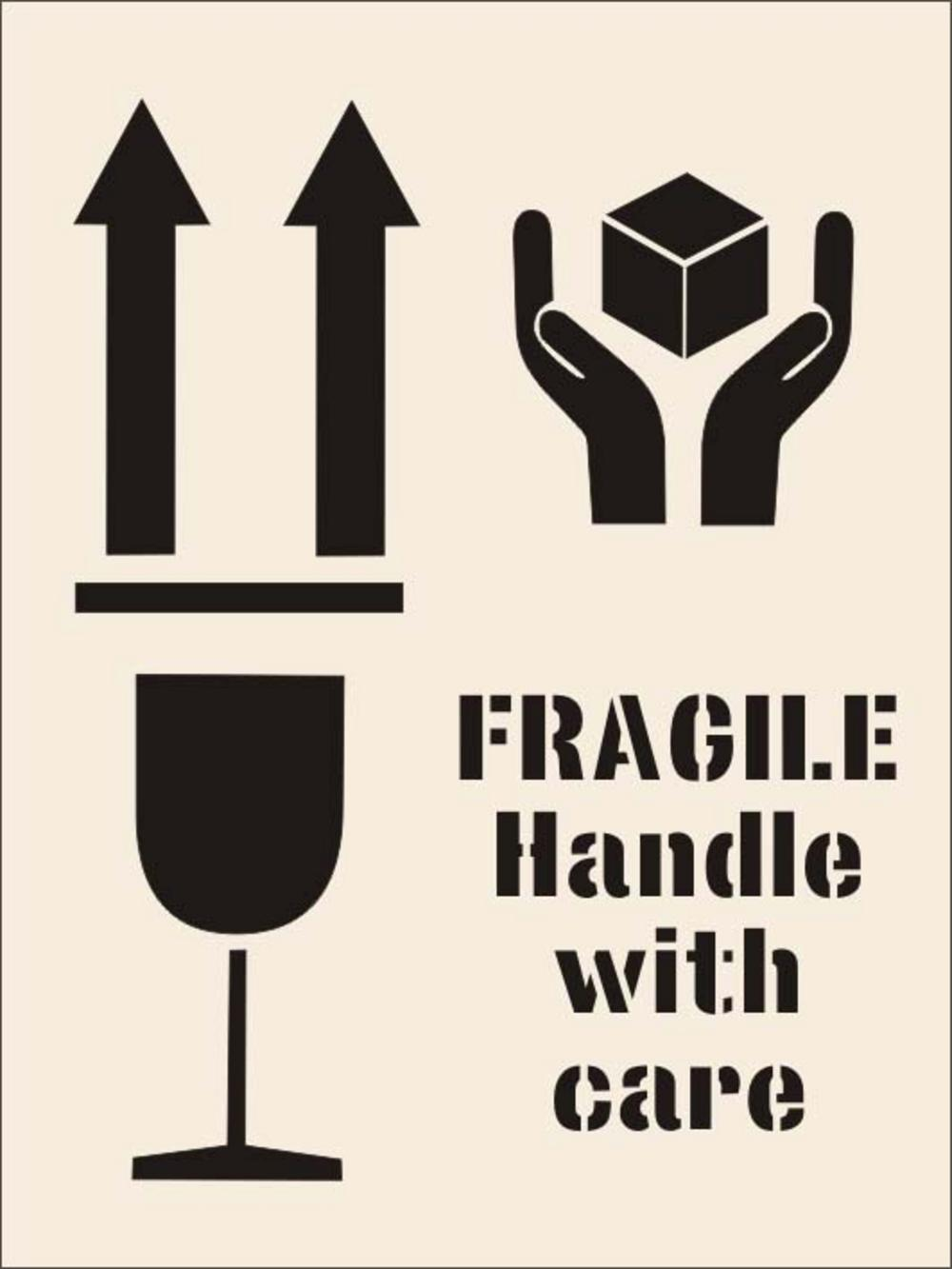 Symbol clipart handle with care #14