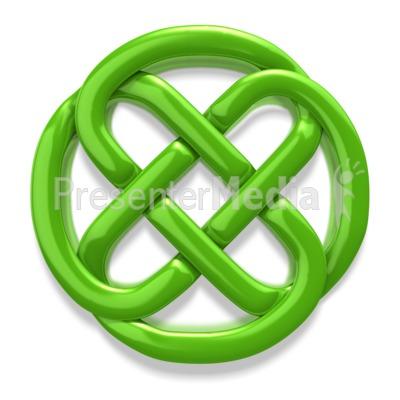 Symbol clipart irish Celtic Presentation Clipart Clover Circle