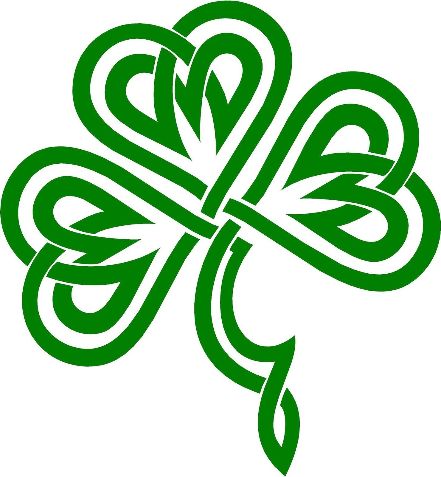 Symbol clipart irish Musings: o' Green bit Cross