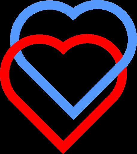 Hearts clipart love symbol Svg Heart svg symbol rings