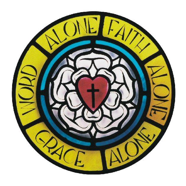 Symbol clipart lutheran Symbols cross rose  Christianity