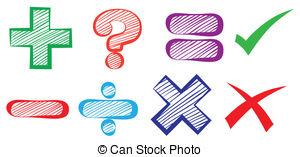 Symbol clipart mathematics Clipart education; symbols and 3d