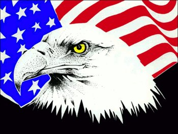 Bald Eagle clipart patriotic Free with Clip American