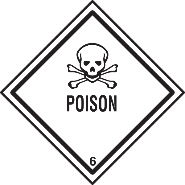 Symbol clipart poisonous Download Warning image Poison Clip
