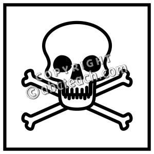 Symbol clipart poisonous  Art Symbol Clip Poison