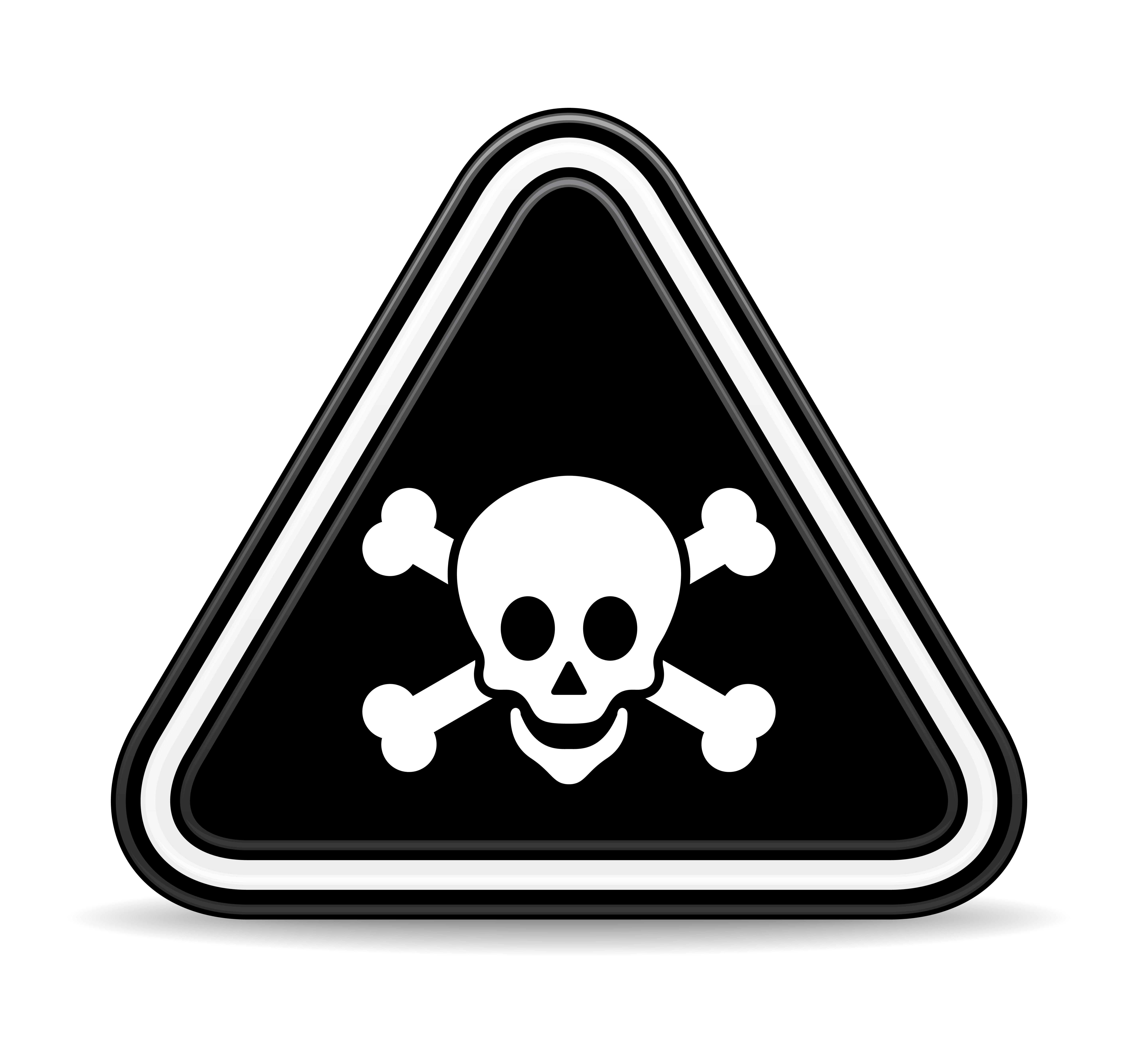 Symbol clipart poisonous #13
