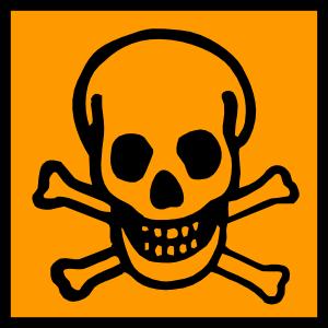 Symbol clipart poisonous Toxic Poisonous Clip Toxic Clip