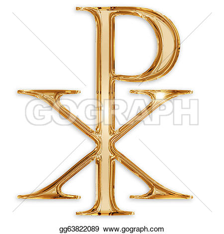 Symbol clipart protestant Stock Royalty Free isolated on