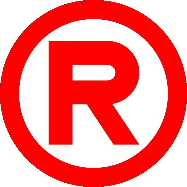 Symbol clipart registered trademark Registered  Symbol Logo