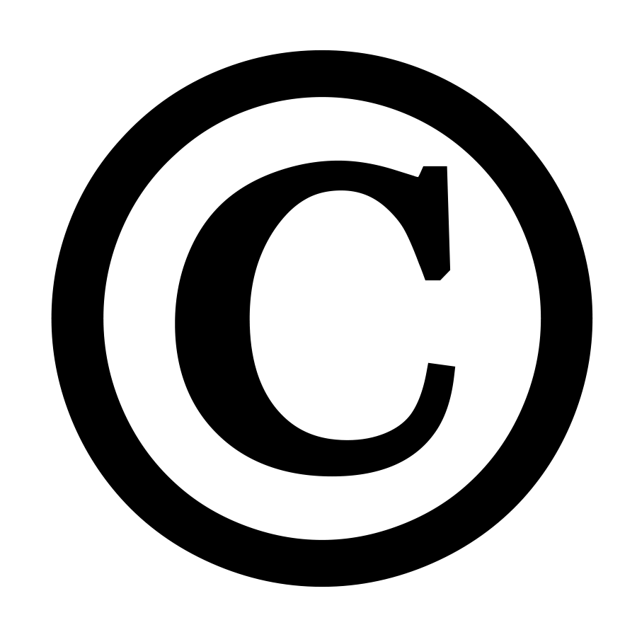 Symbol clipart registered trademark Library Seminary College & Copyright_symbol